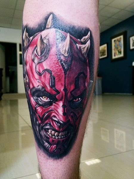 tattoos/ - Star Wars Darth Maul Tattoo - 101755