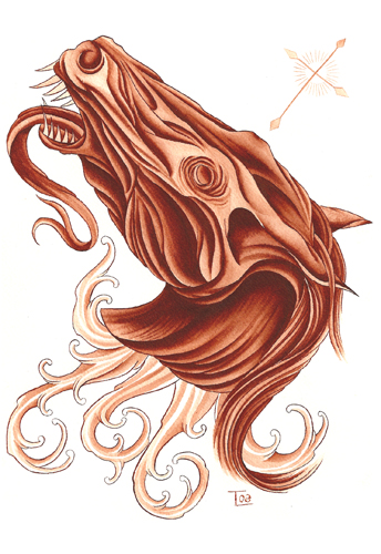Art Galleries - Apocalyptic horse  - 32792