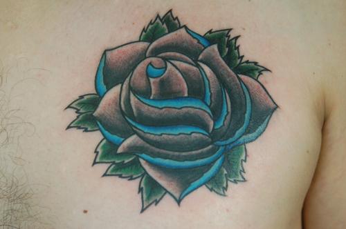 tattoos/ - Old school rose - 32778