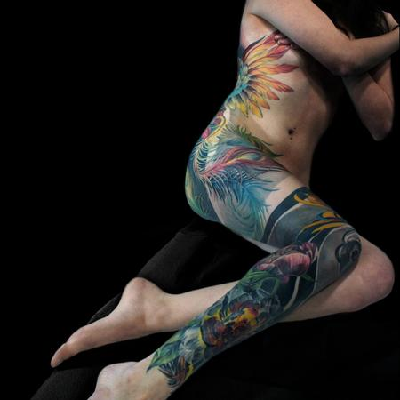 tattoos/ - Phoenix Back and Legsleeve - 133068