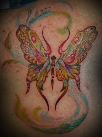 tattoos/ - butterfly tattoo - 46248