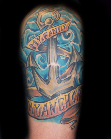 tattoos/ - Family Anchor - 32943