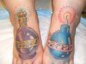 tattoos/ - Bomb feet tattoos - 49431