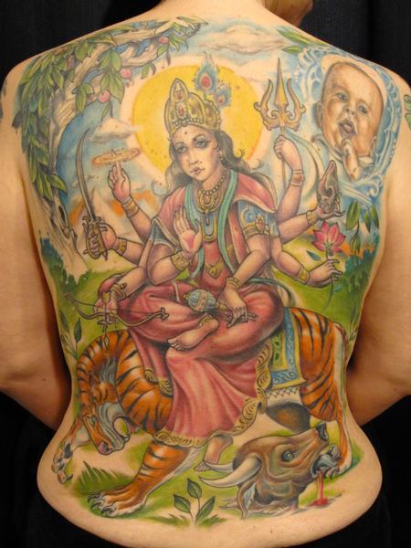 tattoos/ - Devi Durga - 60902