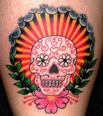 tattoos/ - Sugar Skull - 8859