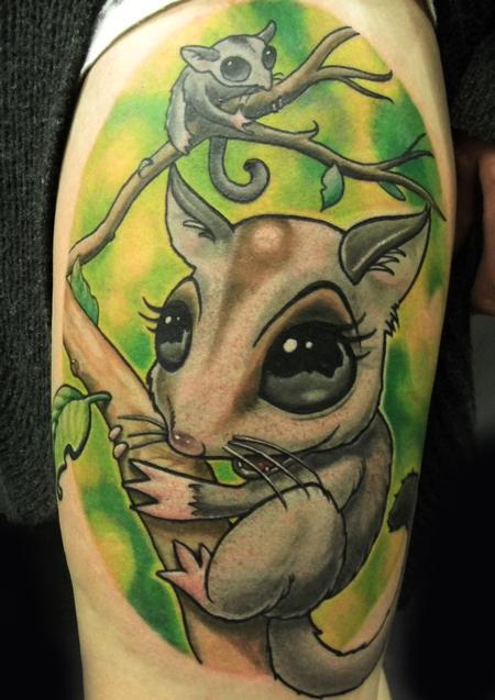tattoos/ - Newschool sugar glider - 116600