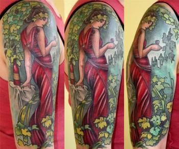 tattoos/ - Mucha Inspired Tattoo - 43539
