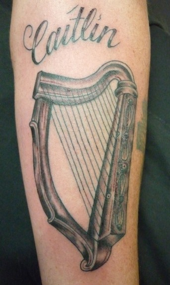 tattoos/ - Harp Tattoo - 51741