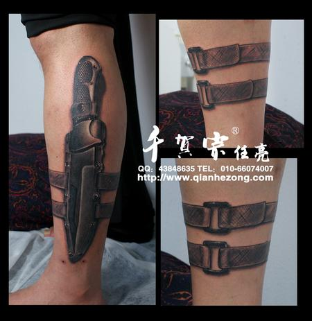 tattoos/ - Tactical knife - 70707