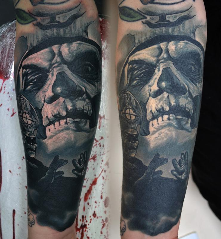When Is Tattoo Healed: Healed Papa Emeritus Comparison By Alan Aldred : Tattoos