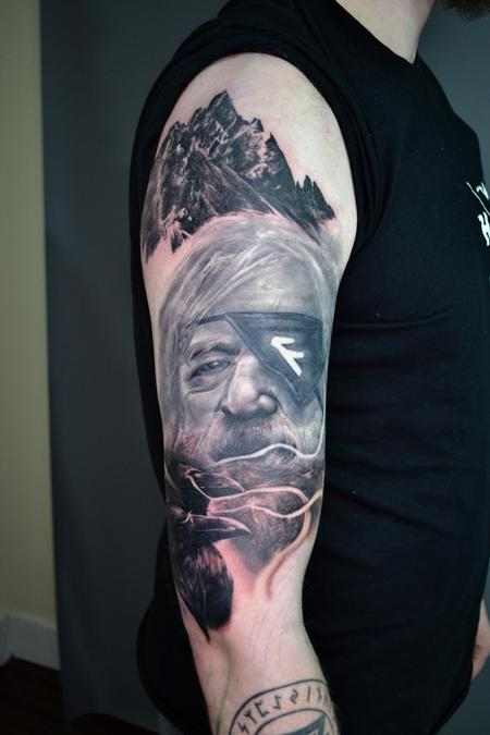 tattoos/ - Odin - Norse Mythology Sleeve - 142123