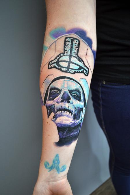 tattoos/ - Work In Progress - Papa 2 from Ghost  - 142692