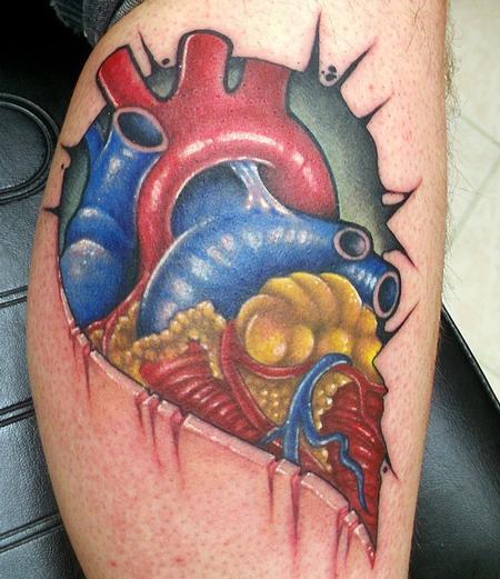 tattoos/ - Half heart - 128846