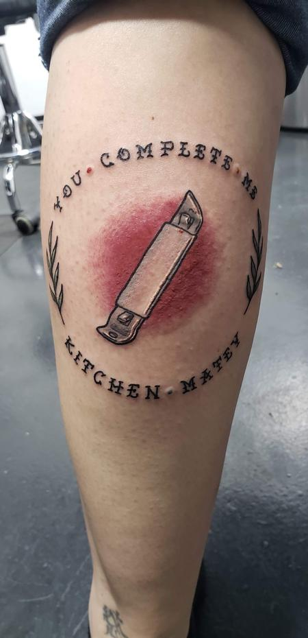 Bottle opener friends tattoo