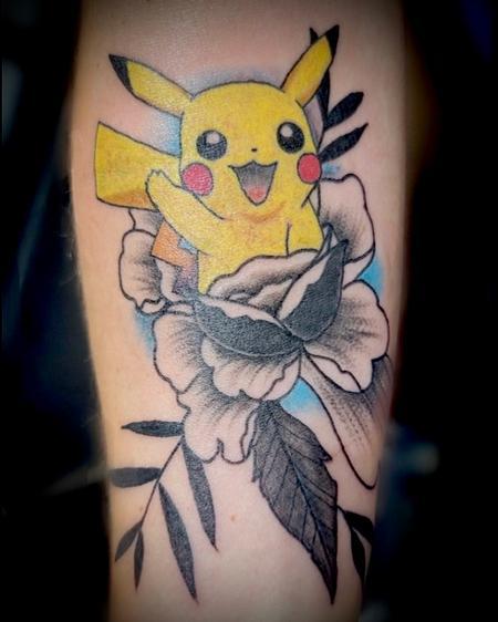 Pikachiu flower fusion
