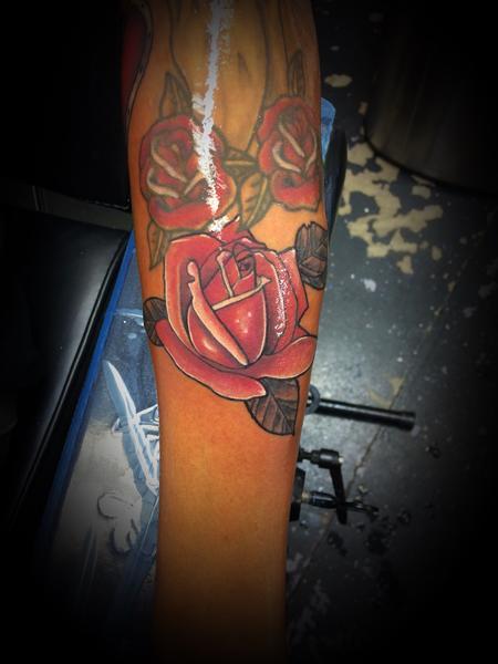 tattoos/ - Red Rose - 140595