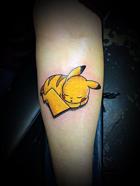 tattoos/ - Pika Chu  - 140596