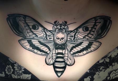 tattoos/ - Death moth - 142385