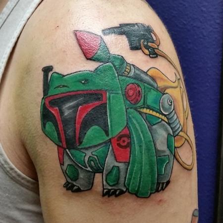 Bulba Fett Pok�mon/Star Wars Mashup