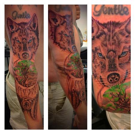 tattoos/ - Wolf  - 141548