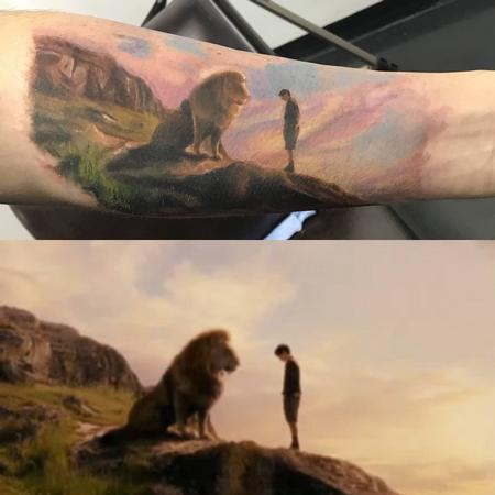 tattoos/ - Lion - 142861