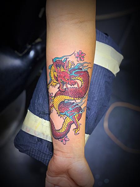 tattoos/ - Dragon  - 140005