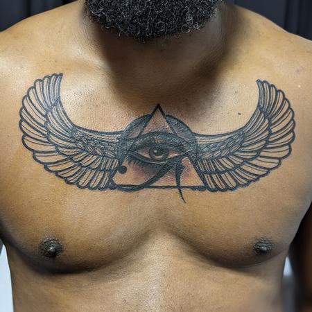 tattoos/ - Egyptian chest design - 142614
