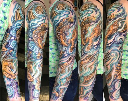 tattoos/ - BIO ORGANIC SLEEVE - 134819