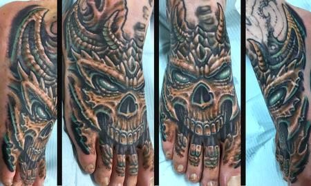 tattoos/ - BIO ORGANIC FOOT - 134820