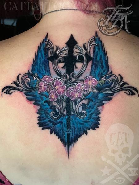 tattoos/ - Gothic Memorial Coverup - 142888