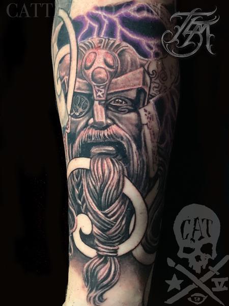 tattoos/ - Odin Viking Sleeve - 142887