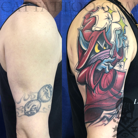 tattoos/ - Wizard Coverup - 140355