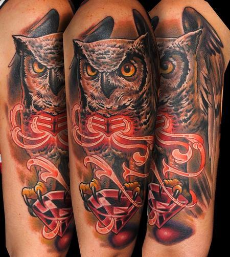 tattoos/ - Owl - 123805