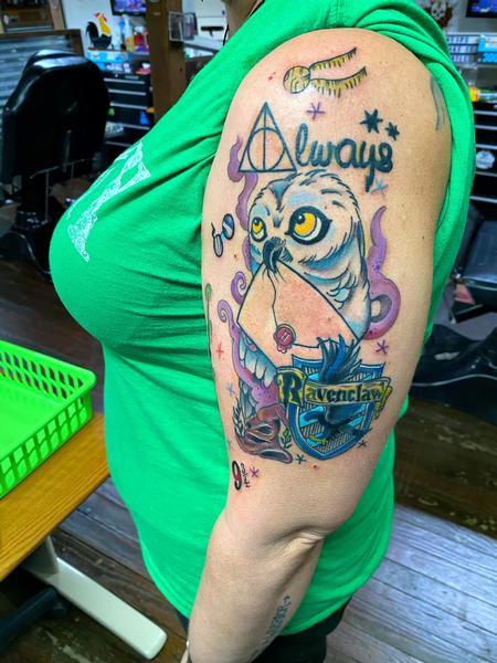 tattoos/ - Ravenclaw  - 142758