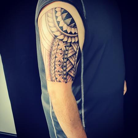 tattoos/ - Polynesian Tribal  - 142161