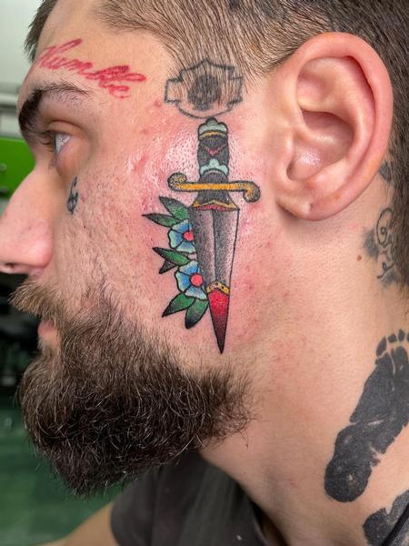 tattoos/ - Traditional Dagger - 142754