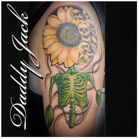 tattoos/ - Wicked Sunflower - 140282