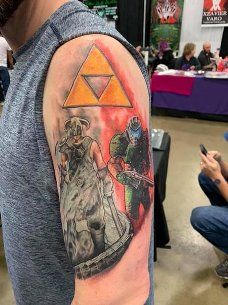 tattoos/ - Video Game Half Sleeve - 139187