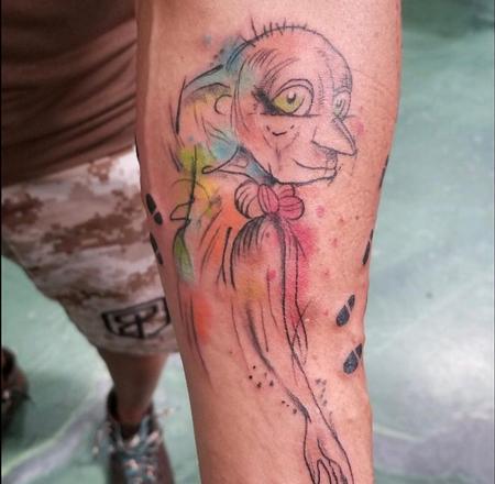tattoos/ - Watercolor Dobby - 139191