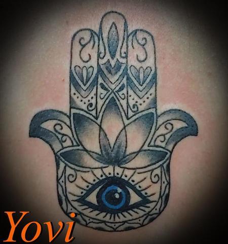 tattoos/ - Hamsa Hand - 140291