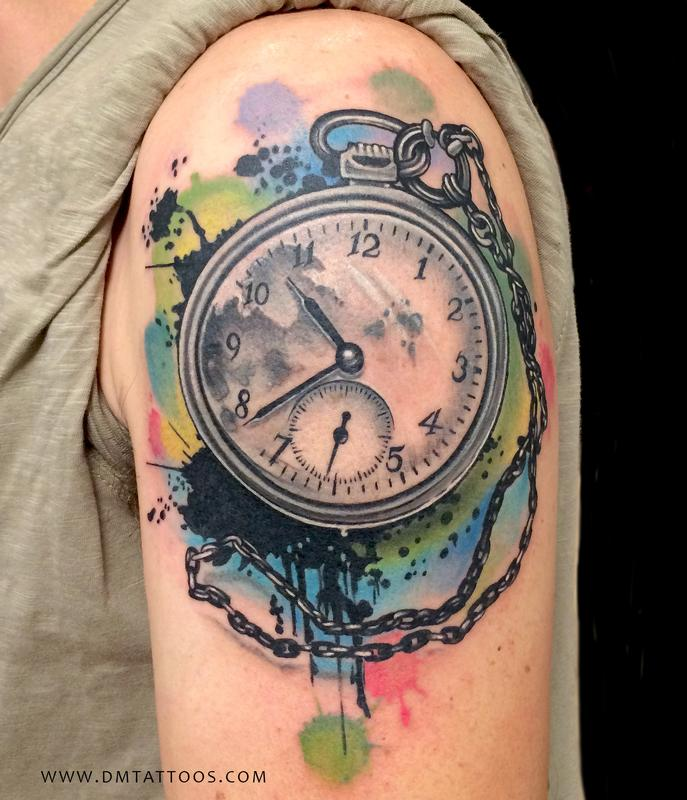 clock tattoo 47