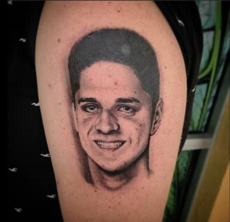 tattoos/ - Brothers Memorial Portrait - 142388