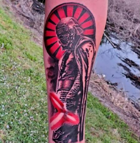 tattoos/ - Kylo Ren  - 142335