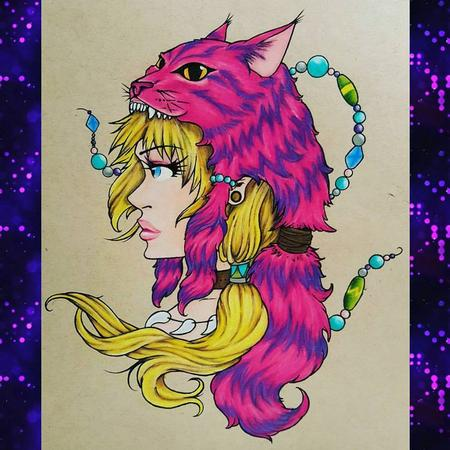 Art Galleries - Anime Alice in Wonderland w/ Cheshire Headdress - 127029