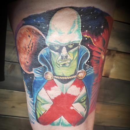 tattoos/ - Martian Manhunter  - 142210