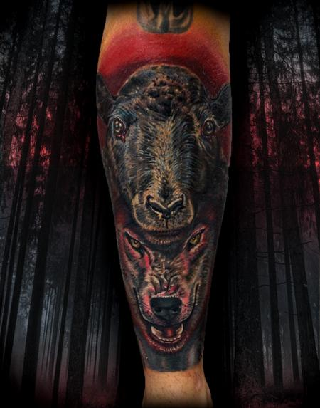 tattoos/ - wolf in sheep's clothing tattoo - 138410