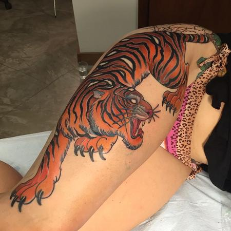 tattoos/ - Tiger - 108291