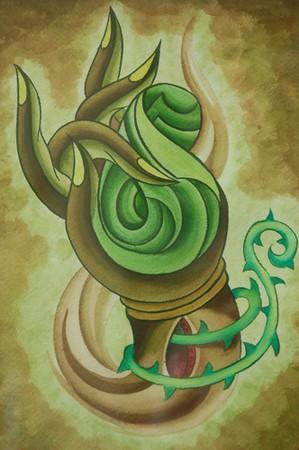 Art Galleries - Tibetan Hand - 39763