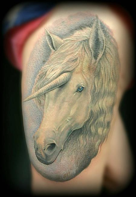 tattoos/ - Unicorn thigh tattoo - 141109