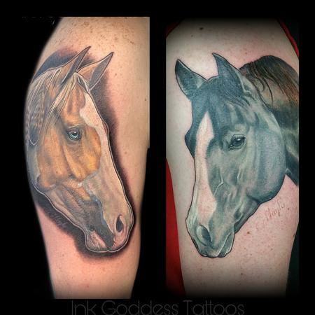 tattoos/ - Horse portrait tattoos by Haylo  - 141412